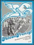 BGSU Football Program: November 06, 1982
