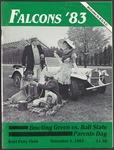 BGSU Football Program: November 05, 1983