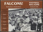 BGSU Football Program: October 20, 1984
