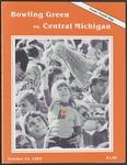 BGSU Football Program October 19, 1985