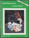 BGSU Football Program: October 26, 1985