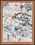 BGSU Football Program: November 16, 1985
