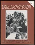 BGSU Football Program October 04, 1986
