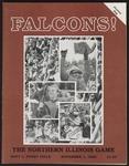BGSU Football Program: November 01, 1986