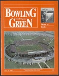 BGSU Football Program: October 17, 1987