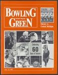 BGSU Football Program November 21, 1987
