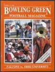 BGSU Football Program: October 08, 1988