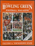 BGSU Football Program October 22, 1988