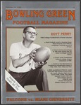 BGSU Football Program October 29, 1988