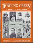 BGSU Football Program November 12, 1988