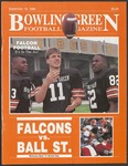 BGSU Football Program: September 16, 1989