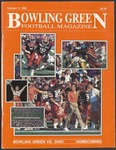 BGSU Football Program: October 06, 1990