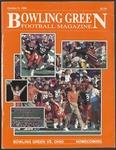 BGSU Football Program October 06, 1990