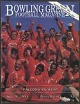 BGSU Football Program: November 09, 1991