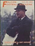 BGSU Football Program: September 26, 1992