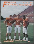 BGSU Football Program: October 10, 1992