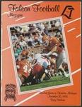 BGSU Football Program: November 20, 1993