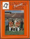 BGSU Football Program: September 17, 1994