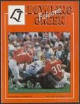BGSU Football Program November 12, 1994