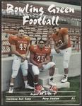 BGSU Football Program: August 31, 1995
