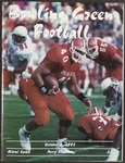 BGSU Football Program: October 07, 1995