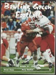 BGSU Football Program: October 21, 1995