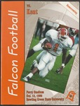 BGSU Football Program October 12, 1996