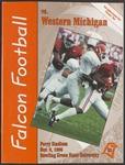 BGSU Football Program November 09, 1996