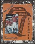 BGSU Football Program September 26, 1998