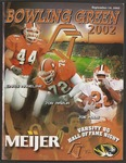 BGSU Football Program September 14, 2002