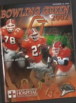 BGSU Football Program October 19, 2002 by Bowling Green State University. Department of Athletics