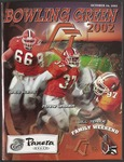 BGSU Football Program October 26, 2002 by Bowling Green State University. Department of Athletics