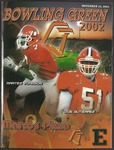 BGSU Football Program November 23, 2002 by Bowling Green State University. Department of Athletics