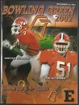 BGSU Football Program: November 23, 2002