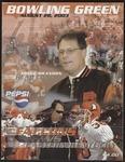 BGSU Football Program: August 28, 2003