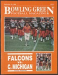 BGSU Football Program: September 23, 1989