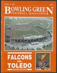 BGSU Football Program: October 14, 1989