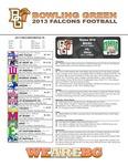 BGSU Football Program: November 12, 2013