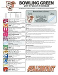 BGSU Football Program October 04, 2014 by Bowling Green State University. Department of Athletics