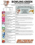 BGSU Football Program October 18, 2014 by Bowling Green State University. Department of Athletics