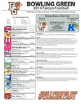 BGSU Football Program November 12, 2014 by Bowling Green State University. Department of Athletics