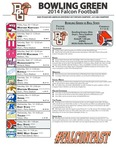 BGSU Football Program November 28, 2014 by Bowling Green State University. Department of Athletics
