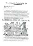 Homophobia and the Mexican Working Class