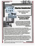 Real Estate Drawings and Recent Work by Charles Kanwischer