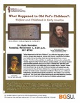 What Happened to Old Pat's Children?: Welfare and Childhood in Early America by Ruth Herndon