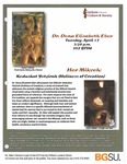 Her Mikvah: Kedushat Yetzirah (Holiness of Creation) by Bowling Green State University. Institute for the Study of Culture & Society