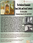 The Medieval Remainder: Faust, Debt, and Social Contracts by Bowling Green State University. Institute for the Study of Culture & Society