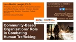 Presentation - Community-Based Organizations' Role in Combating Sex Trafficking