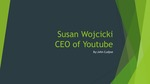 YouTube: Susan Wojcicki