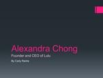 Lulu: Alexandra Chong by Carly Ranks